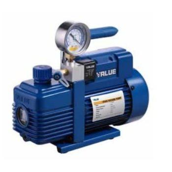 1HP Dual Stage With Gauge Vacuum Pump