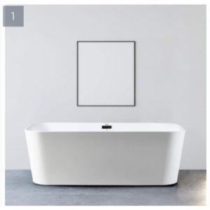 Ideal Standard Acrylic Free Standing Bathtub - White