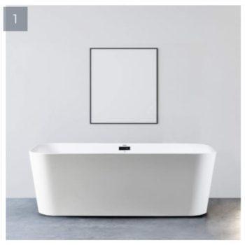 Ideal Standard Acrylic Free Standing Bathtub – White