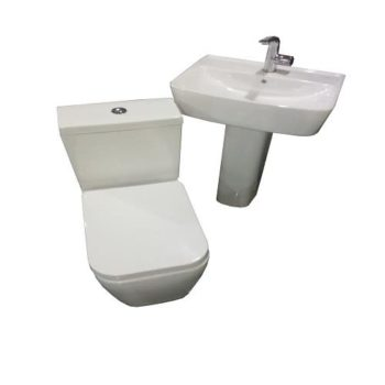 Ideal Standard Executive Floor Standing Toilet Wc Water Closet With Wash Basin-ideal Standard