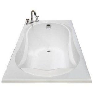 Fiber Bath Tub With Bath Mixer & Waste