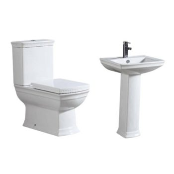 Water Closet Set With Top Flush – Shanks England WC