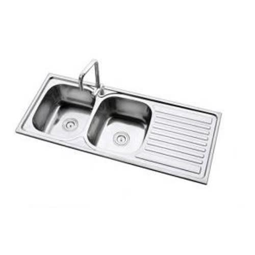 Double Bowl Stainless Steel Kitchen Sink Mixer Tap Wokzy