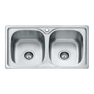 Stainless Steel Kitchen Sink - Double-bowl
