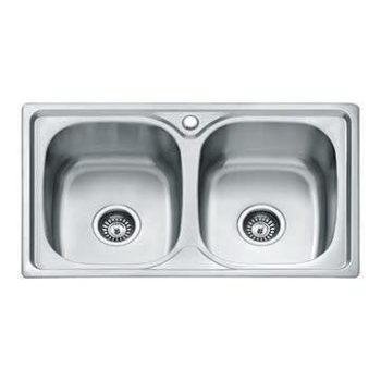 Stainless Steel Kitchen Sink – Double-bowl