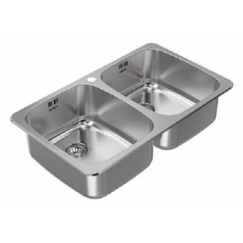 Zitalo Double Bowl Stainless Steel Kitchen Sink