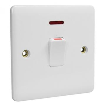 20Amp DP Switch Neon Water Heater