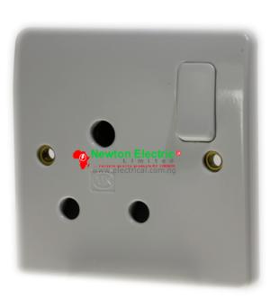MK Electric Logic Plus 15Amp Socket K771WHI